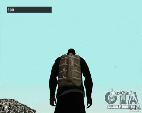 Black Ops Parachute para GTA San Andreas por diante tela