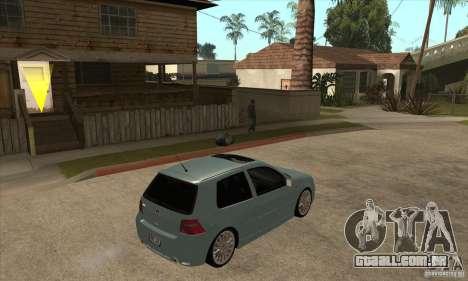 Volkswagen Golf R32 para GTA San Andreas vista direita