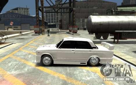 ВАЗ 21074 para GTA 4 esquerda vista