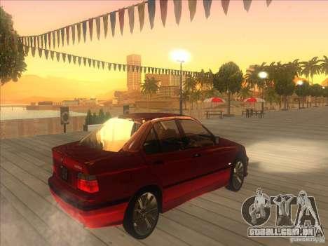 BMW E36 para GTA San Andreas vista direita