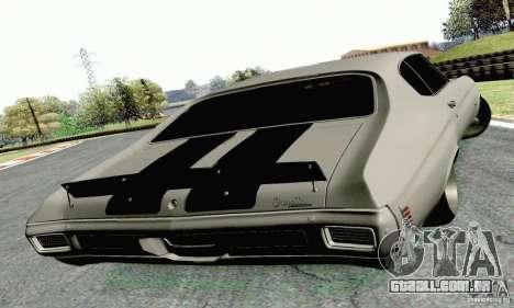 Chevrolet Chevelle 1970 para GTA San Andreas esquerda vista