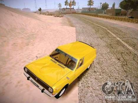 Van de Volga GAZ-24-02 para GTA San Andreas esquerda vista