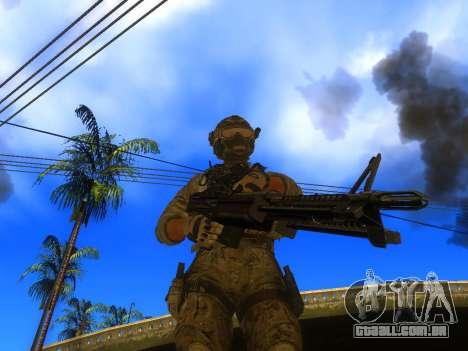 A metralhadora de M60E4 para GTA San Andreas