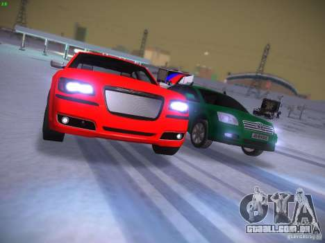 Chrysler 300C SRT8 2011 para vista lateral GTA San Andreas