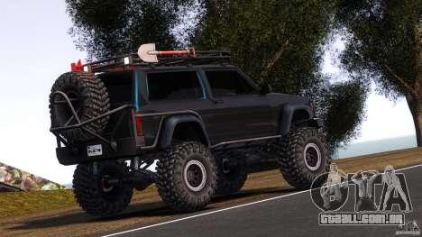 Jeep Cheeroke SE v1.1 para GTA 4 traseira esquerda vista