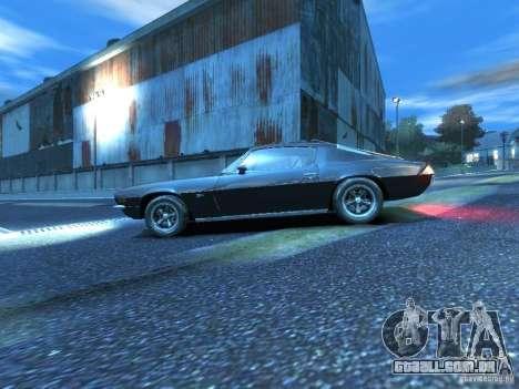 Chevrolet Camaro Z28 para GTA 4 esquerda vista