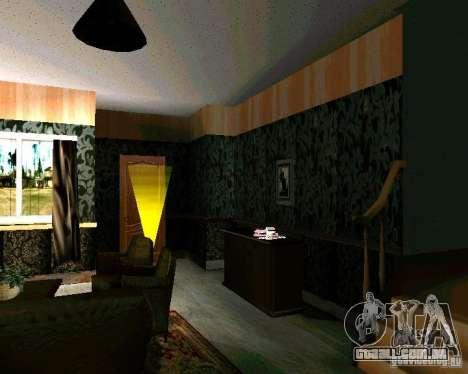 Nova casa CJ v. 2.0 para GTA San Andreas segunda tela