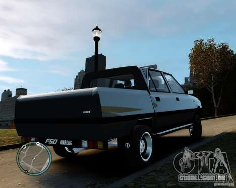 FSO Polonez Analog 4wd para GTA 4 esquerda vista