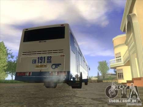 11 Nefaz-5299-32 para GTA San Andreas traseira esquerda vista