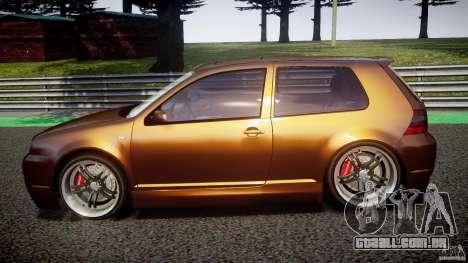 Volkswagen Golf IV R32 para GTA 4 esquerda vista