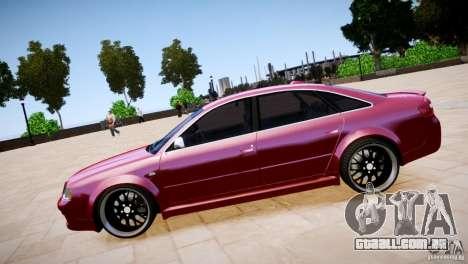Audi RS6 para GTA 4 vista direita