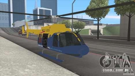 GTA IV News Maverick para GTA San Andreas