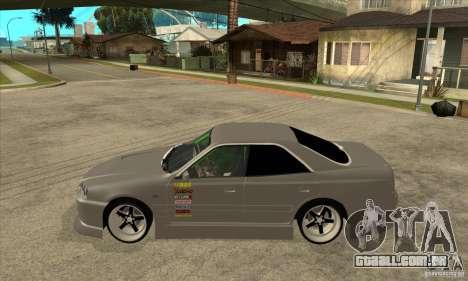 Nissan Skyline Er34 Street Drift para GTA San Andreas