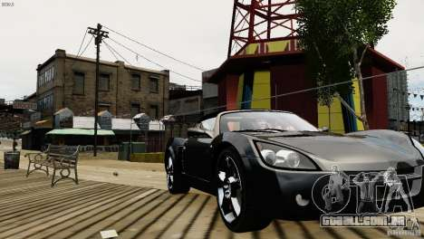 Opel Speedster Turbo 2004 para GTA 4 vista de volta