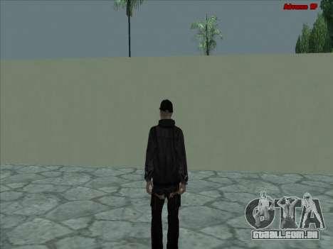 GuF para GTA San Andreas por diante tela