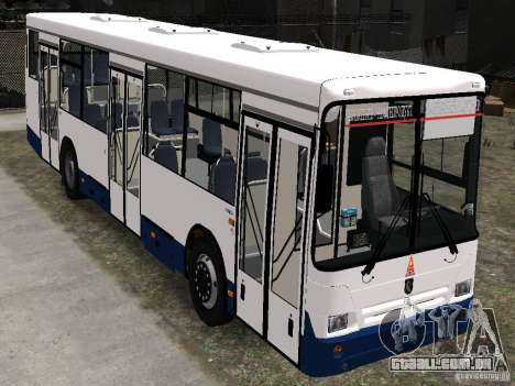 Nefaz-5299 10-15 para GTA 4 vista interior