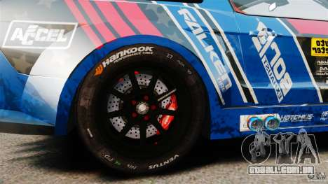 Ford Mustang 2010 GT1 para GTA 4 vista de volta