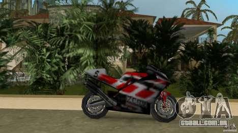 Yamaha YZR 500 para GTA Vice City deixou vista