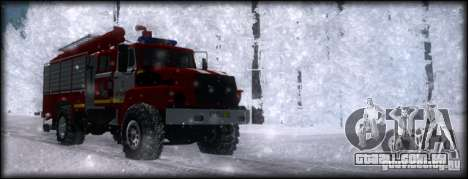 Ural 43206 AC 3.0-40 para GTA San Andreas vista direita