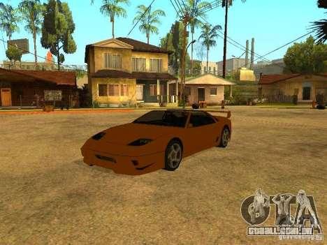 Spawn de carros para GTA San Andreas quinto tela