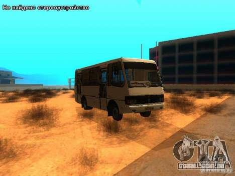 BASES e 079.14 para GTA San Andreas vista traseira