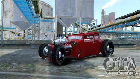 Smith 34 Hot-Rod Restyling para GTA 4 vista de volta