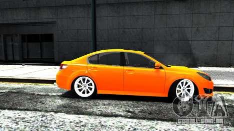 Subaru Legacy B4 para GTA 4 traseira esquerda vista