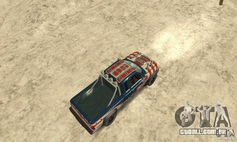 Nevada v1.0 FlatOut 2 para GTA San Andreas traseira esquerda vista