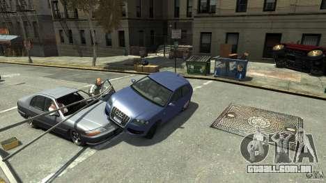 Audi S3 2006 v 1.1 não é tonirovanaâ para GTA 4 vista lateral