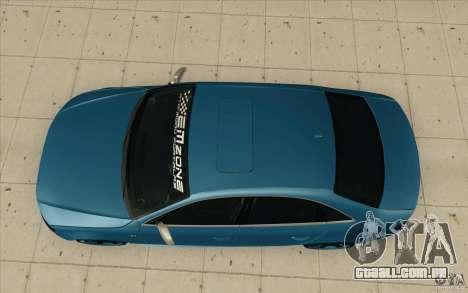 Audi S4 2009 para GTA San Andreas vista direita