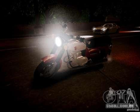 Sunrise 3 Beta m-01 para GTA 4 vista de volta