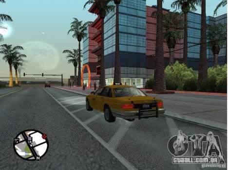 Um táxi de Gta IV para GTA San Andreas