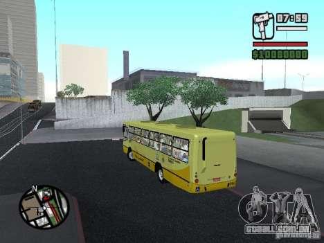 Ciferal Citmax para GTA San Andreas traseira esquerda vista