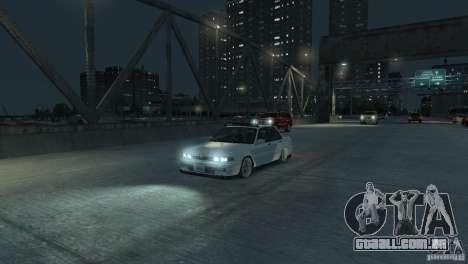 Mitsubishi Galant Stance para GTA 4 vista de volta