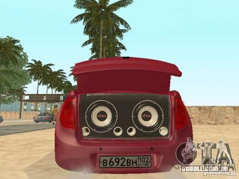 Lada Granta para GTA San Andreas vista traseira
