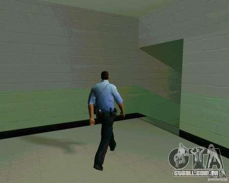Azeri Polis para GTA San Andreas por diante tela