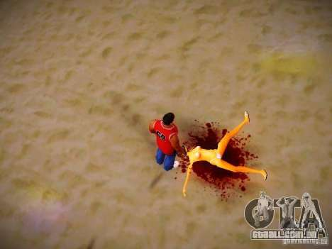 Novos efeitos para GTA San Andreas por diante tela