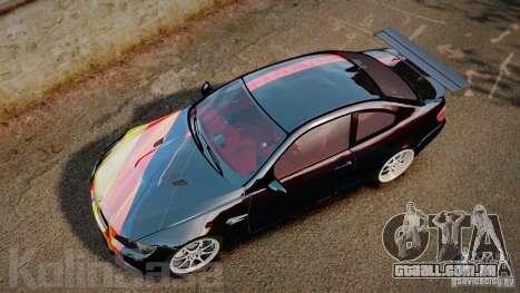 BMW E92 M3 Threep Edition para GTA 4 vista direita