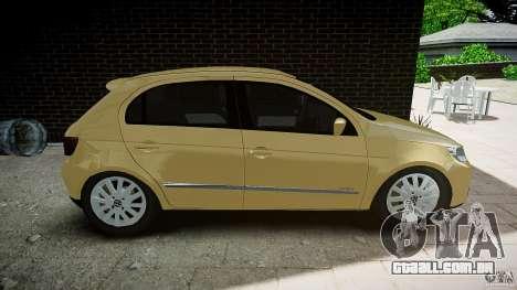 Volkswagen Gol 1.6 Power 2009 para GTA 4 esquerda vista