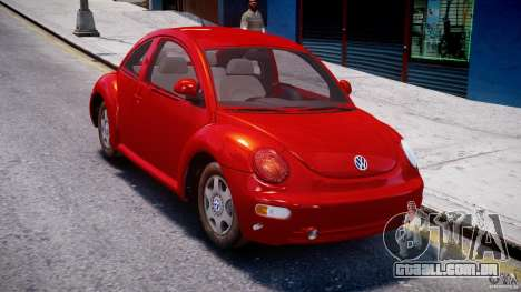 Volkswagen New Beetle 2003 para GTA 4 vista direita