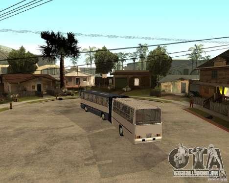 IKARUS 280 para GTA San Andreas traseira esquerda vista
