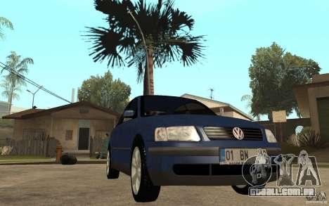 VW Passat B5 1.8T para GTA San Andreas vista traseira