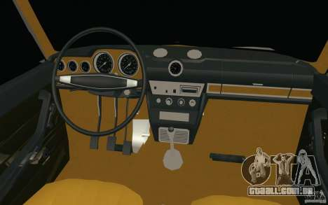 Lada VAZ 2106 para GTA San Andreas vista superior