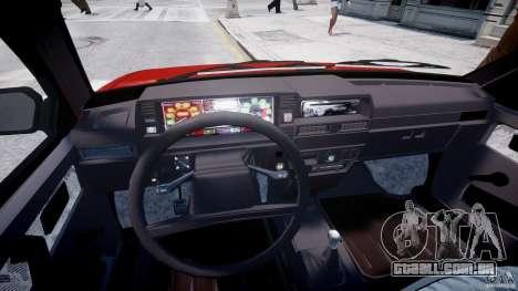 Vaz-21093i para GTA 4 vista de volta