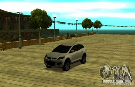 Mazda CX7 para GTA San Andreas vista direita