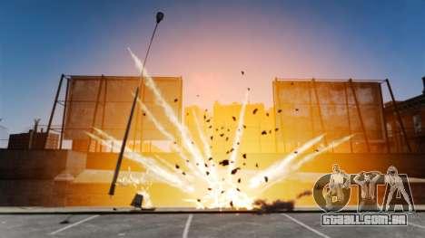 Realistas e grandes explosões para GTA 4