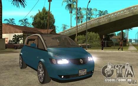 Renault Avantime Mild Tuning para GTA San Andreas vista traseira