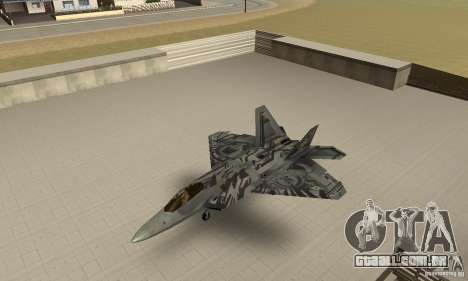 F-22 Starscream para GTA San Andreas