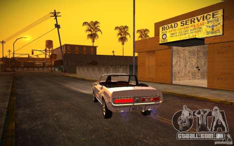 ENBSeries v. 1.0 por GAZelist para GTA San Andreas sexta tela