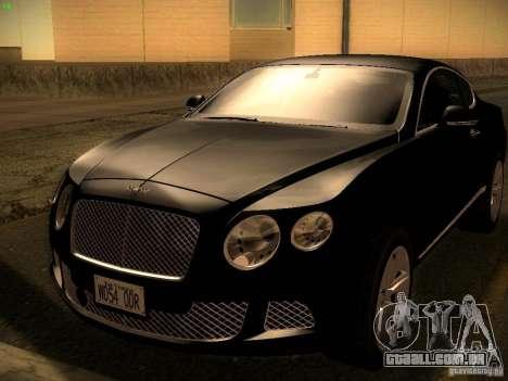 Bentley Continental GT 2011 para GTA San Andreas